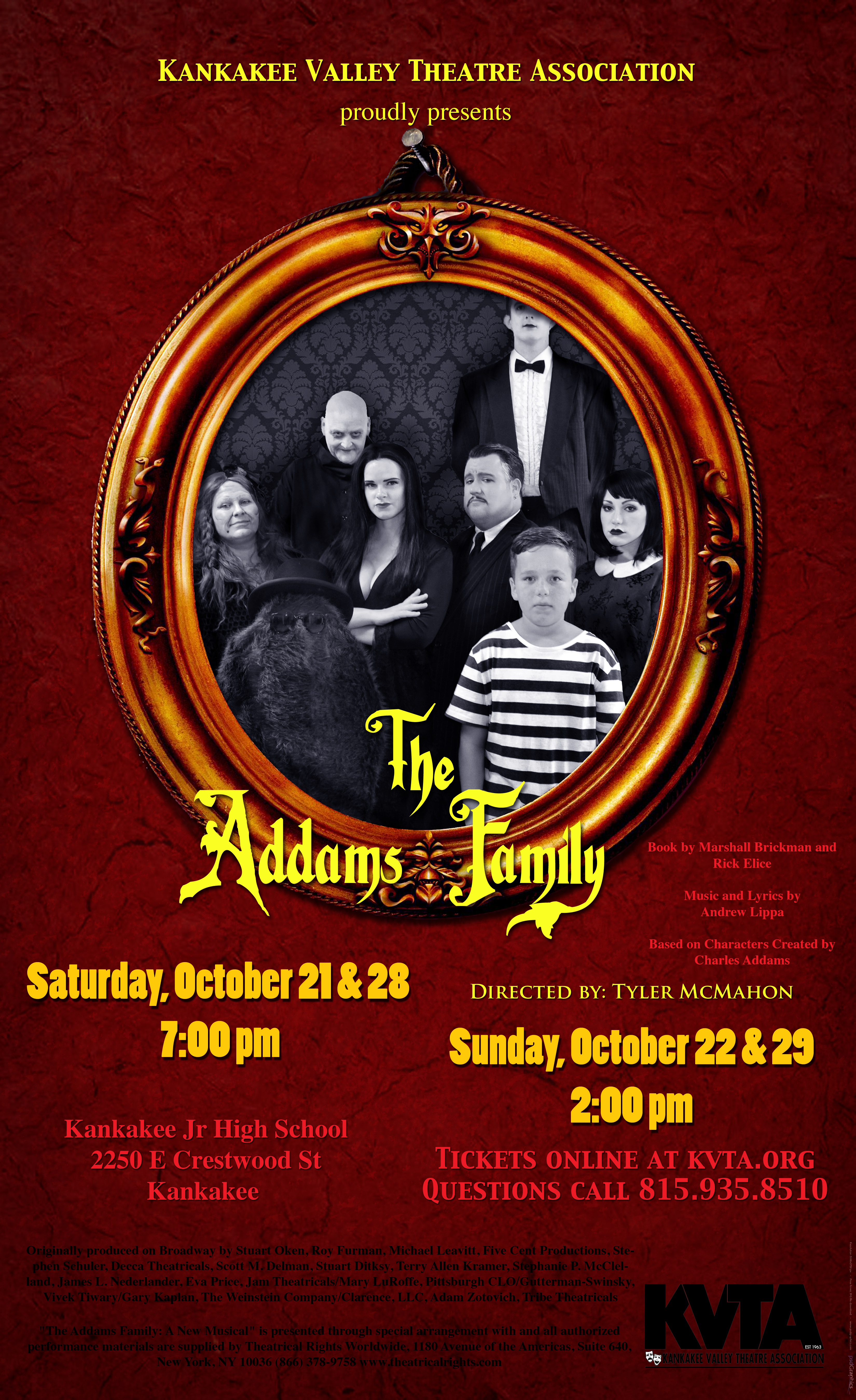 KVTA's The Addams Family