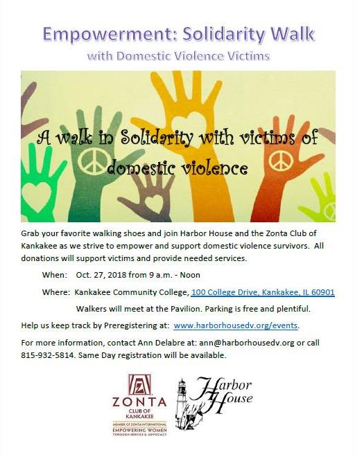Empowerment: Solidarity Walk with DV Victims