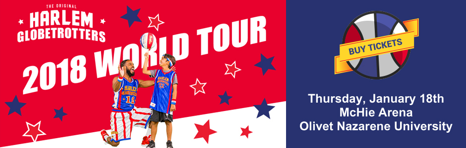 Harlem Globetrotters World Tour 2018