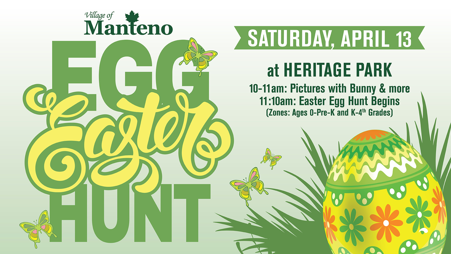 Village of Manteno Easter Egg Hunt