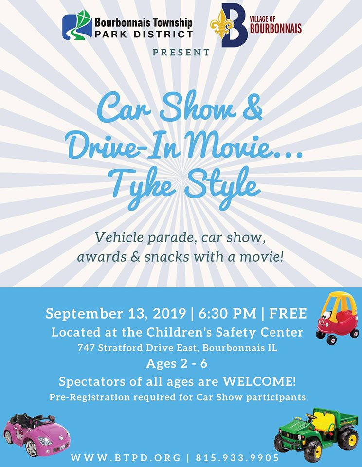 Car Show & Drive In Movie...Tyke Style