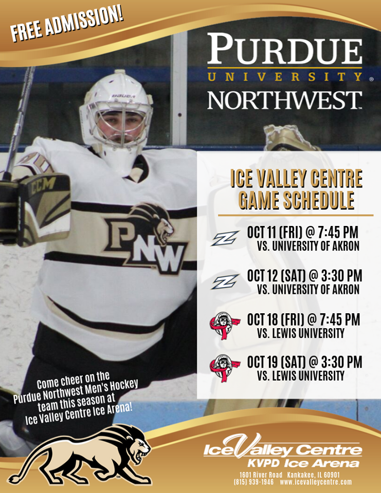 College Hockey at Ice Valley Centre