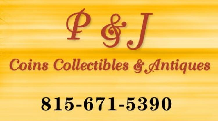 P & J Coins, Collectables & Antiques