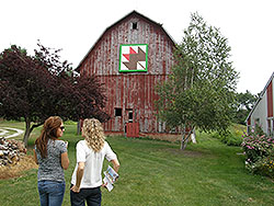 Barn Quilts of Kankakee County, Driving Tour