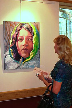 Gretchen Charlton Art Gallery at Provena Heritage Village